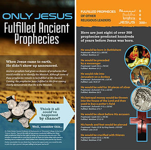 Only Jesus: Fulfilled Ancient Prophecies