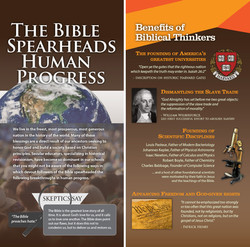 The Bible spearheads human progress