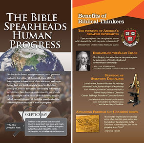 The Bible: Spearheads Human Progress