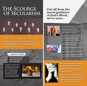 The Bible: Scourage of Secularism