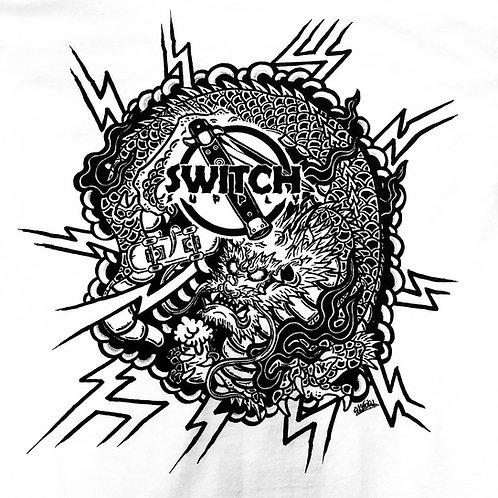 Switch Suketoku Dragon Tee - White