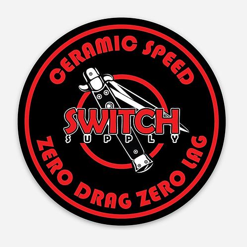 """Switch 3"""" Zero Drag Decal"""