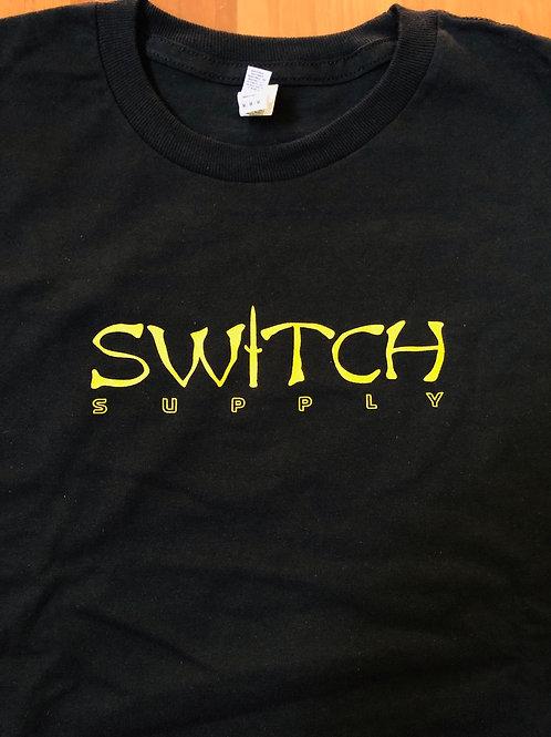 Switch Wu bar logo Tee - Black