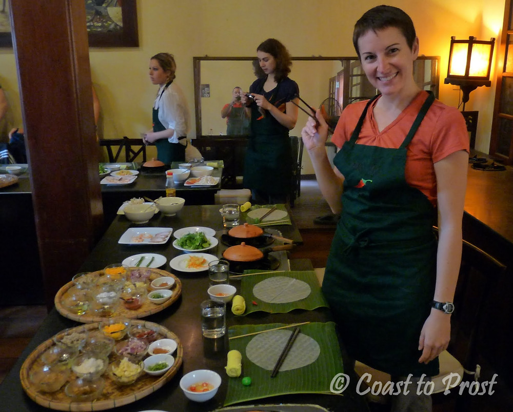 Morning Glory cooking class in Hoi An, Vietnam