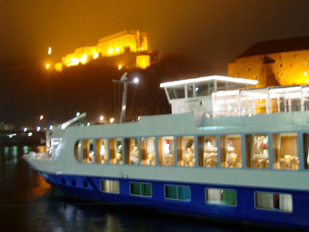 Uniworld River Duchess ship docked in Passau