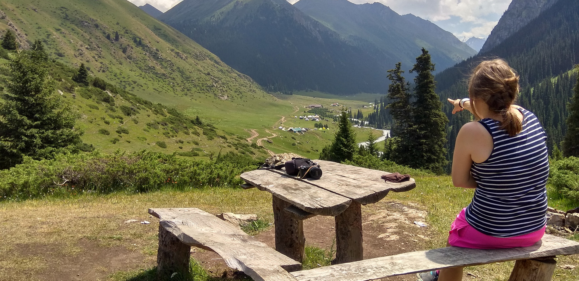 Altyn Arashan-Kyrgyzstan country
