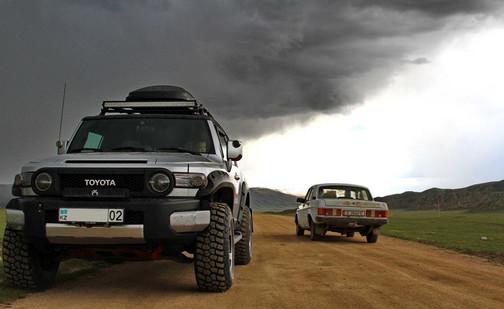 Boom gorge of Kyrgyzstan