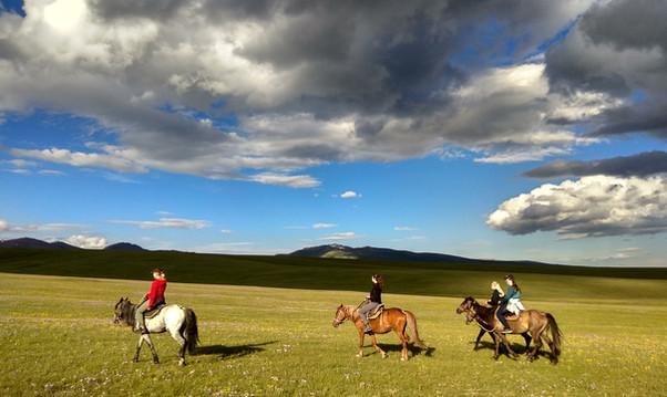 Horseback riding-Kyrgyzstan