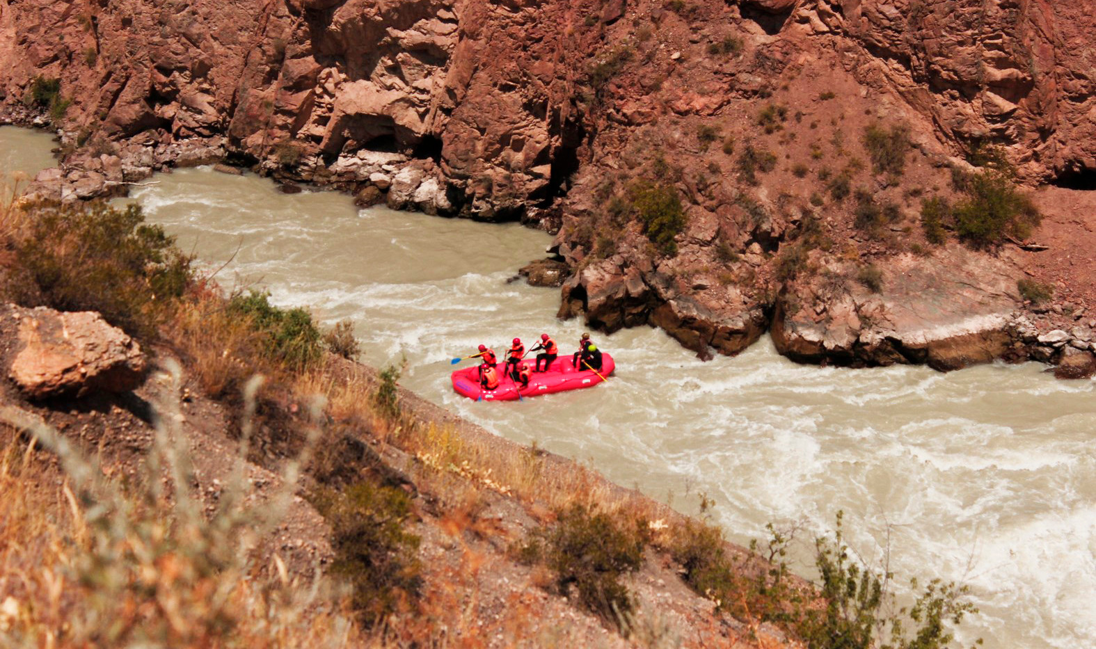 Rafting-Kyrgyzstan country