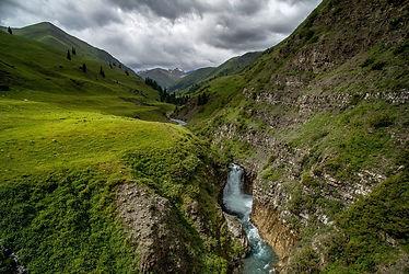 Tekes waterfall