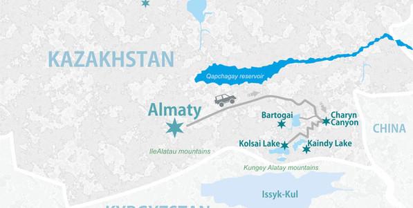 How to get to Kolsai Lake