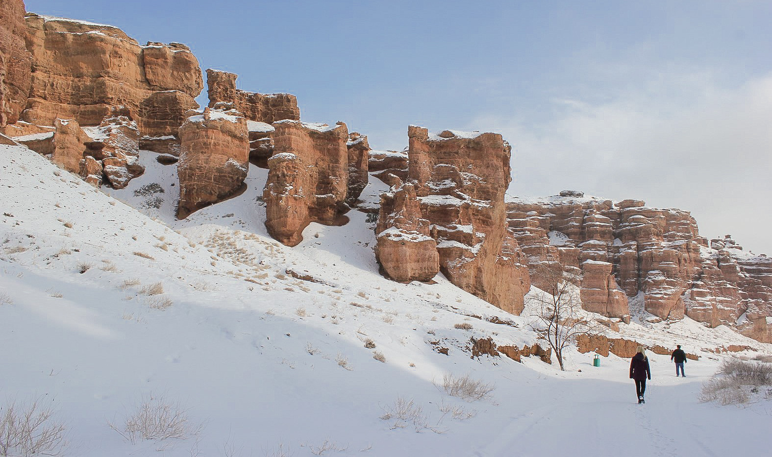 Winter 2019, Charyn Canyon