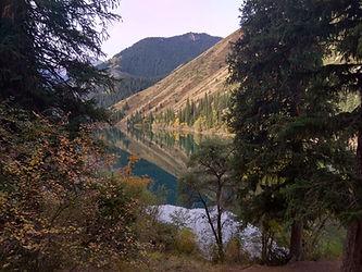 Kolsai Lake, Autumn