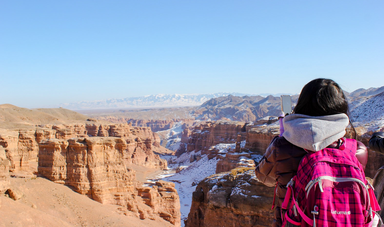 Charyn Canyon. Winter