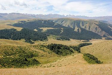 Untouched nature of Kazakhstan