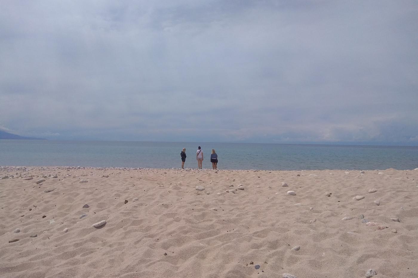 Issyk kul lake Kyrgyzstan