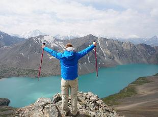ALA KUL Lake Kyrgyzstan