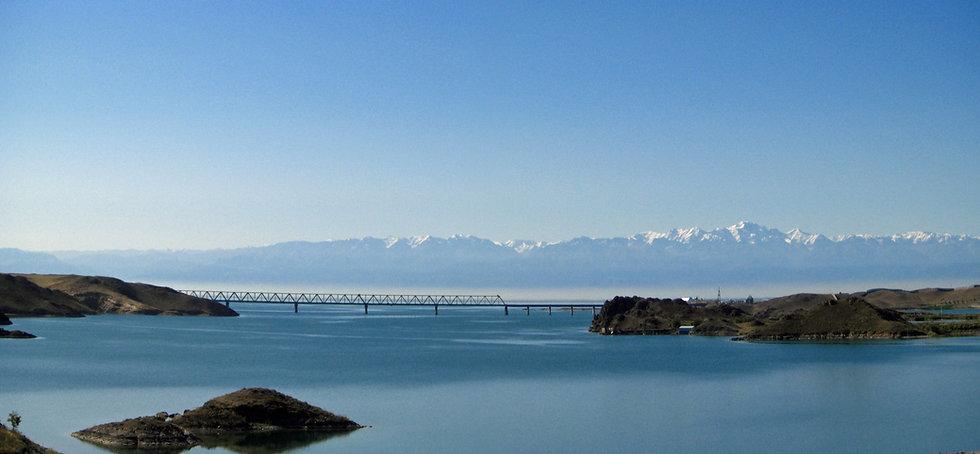 Kapchagay reservoir