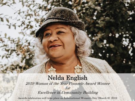 Nelda English Named 2019 Woman of the Year Pinnacle Ward Winner