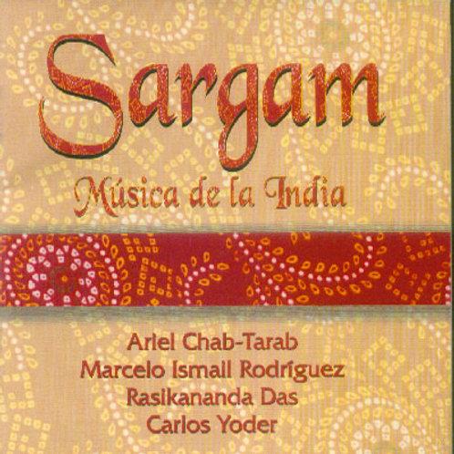"""CD """"Sargam - Música de la India"""""""