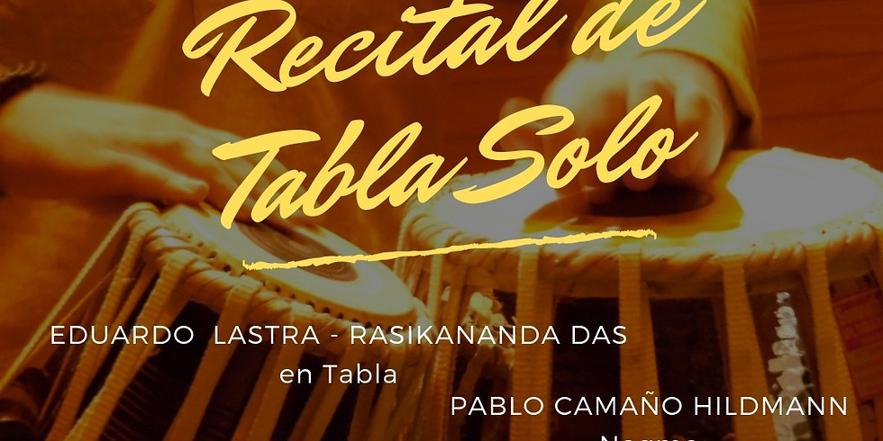 Samvaad (el encuentro) - Recital de Tabla Solo