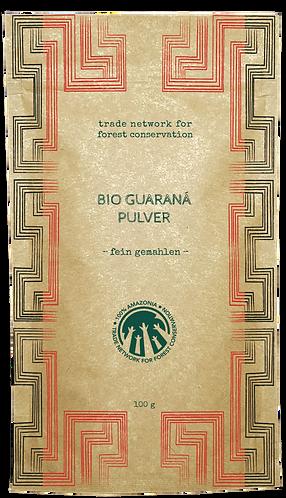 100% Amazonia Guaraná Powder Organic  - Fine Milled Seeds - 250 g