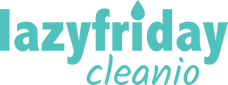 lazyfriday cleanio - logo modre křivky@3