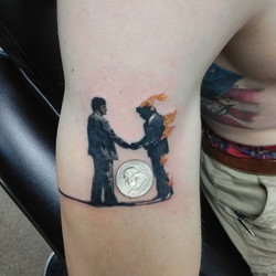 Pink Floyd tattoo