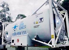 bulk liquid nitrogen