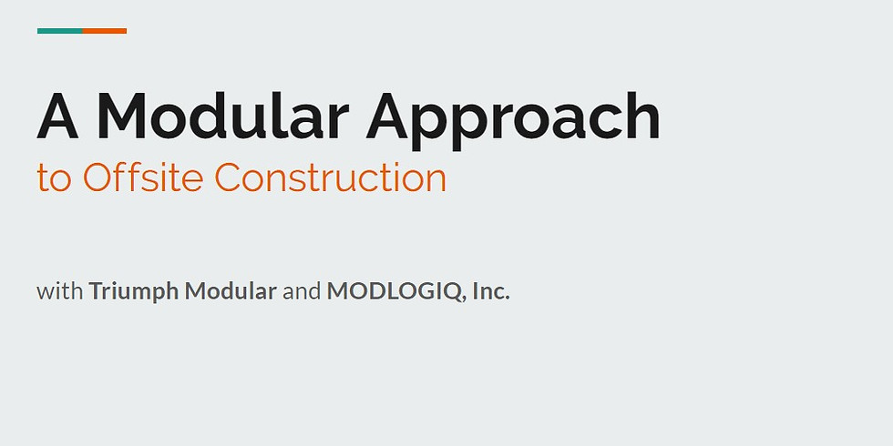 A Modular Approach to Offsite Construction