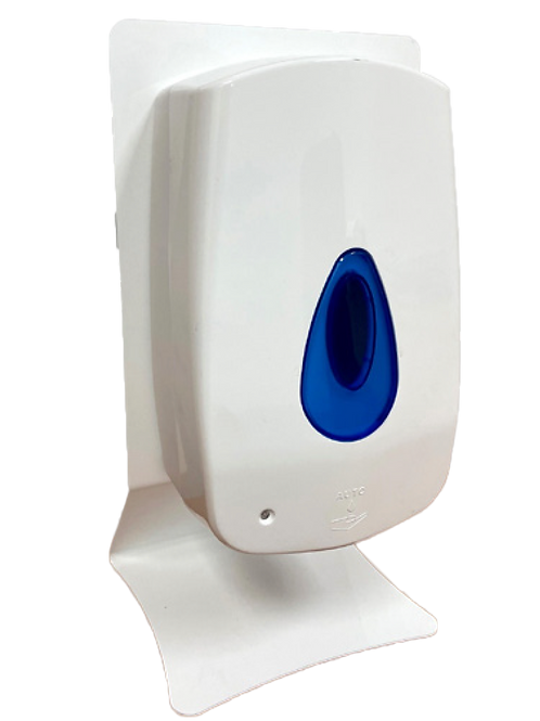 Table-top stand for hand sanitizing dispenser