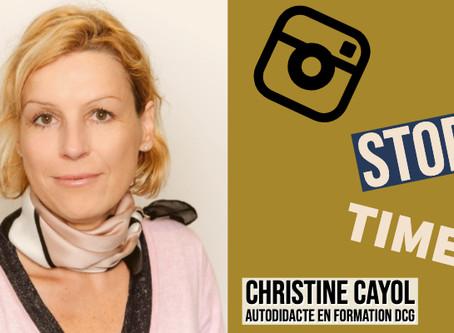 Christine Cayol. Autodidacte, Fonceuse et en formation DCG. Parcours d'élèves.