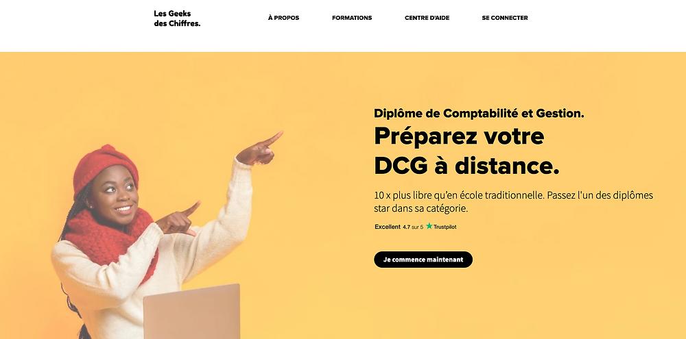 DCG à distance (formation)