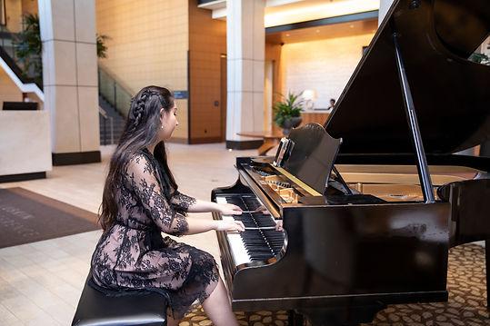 Alethea Katherine UCLA Luskin Pianist
