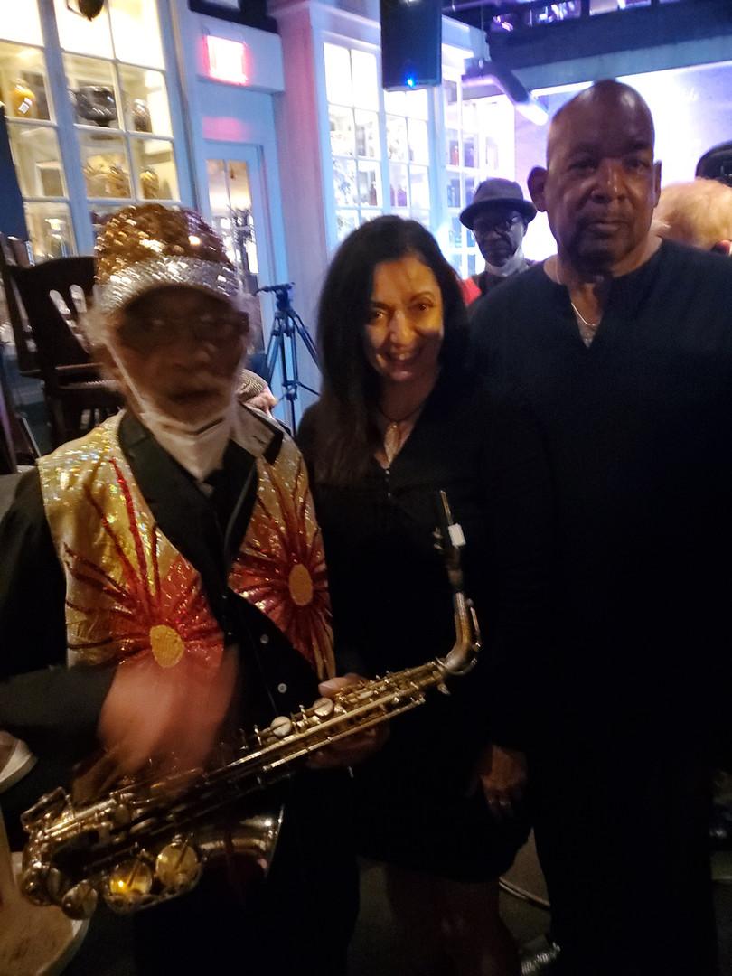 Marshall Allen, Graziella and Warren