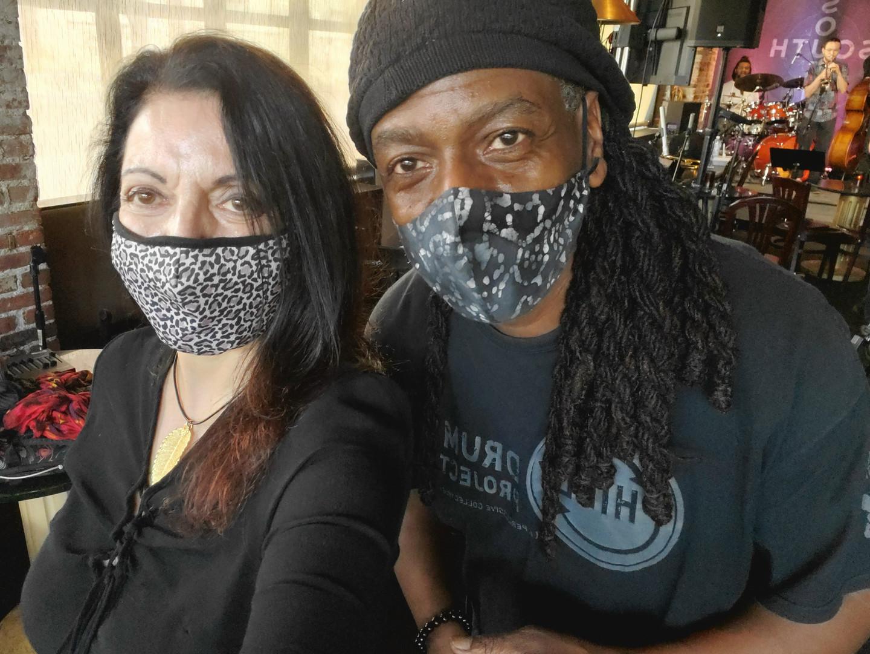 Graziella and Kimpedro Rodriguez