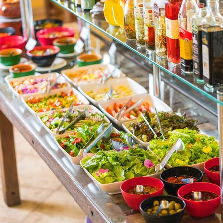 buffet do restaurante Hotel Mil Flores 3