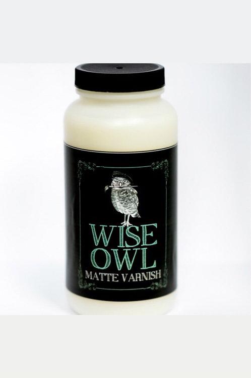 Wise Owl Varnish Satin Finish