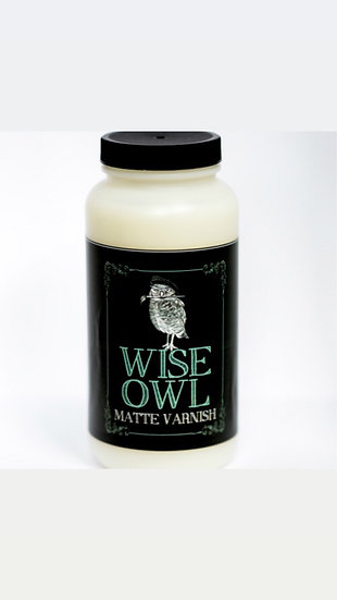 Wise Owl Varnish Matte Finish