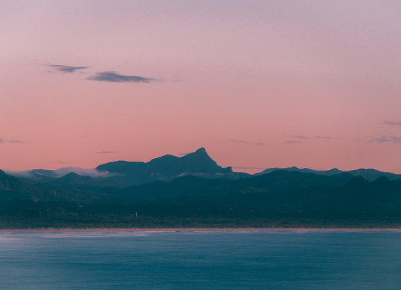 Ross Long Photography - Mount Warning - Print Sale