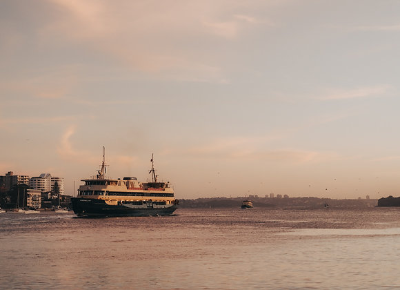 Ross Long Photography - Fine Art Prints - Manly Ferry - RLMY005