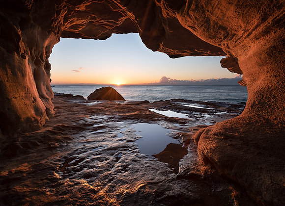 Ross Long Photography - Fine Art Prints - Manly Wormhole - RLMY034