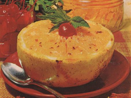 Yummy Origin Stories: Baked Grapefruit