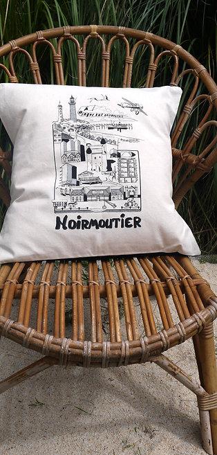 """Coussin Noirmoutier """"BD"""""""