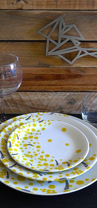 AssietteCollection Mimosa