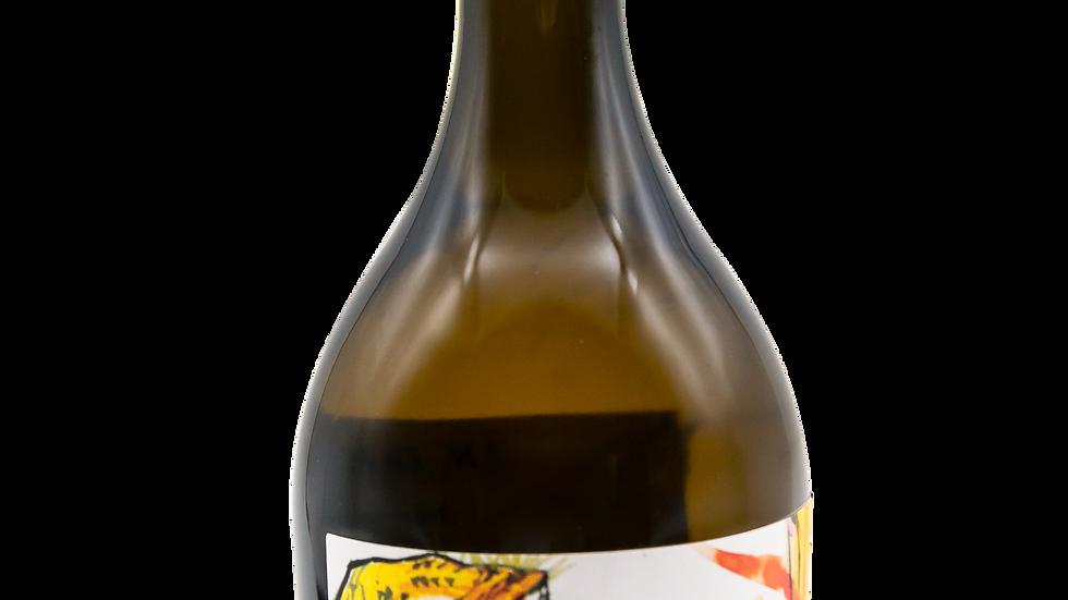 """3 bouteille, cuvée """"Amaitora, l'automne fauve"""" blanc 2020"""