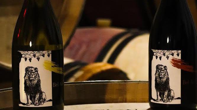 """6 bouteilles cuvées """"Bel air fauve """" blanc et """"Bel Air fauve""""  rouge"""