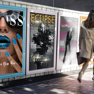 Exterior poster designs