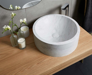 Our latest hot find: Corian top mounted basins
