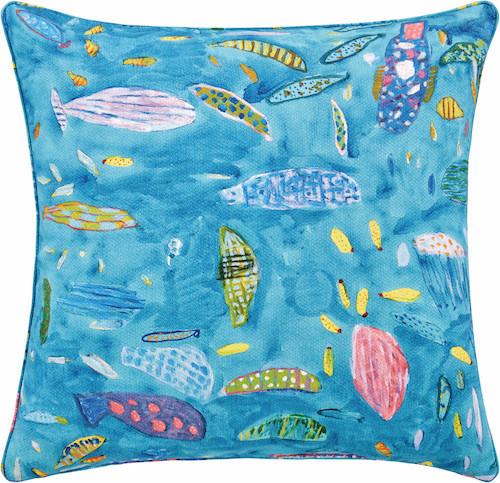 'Aquarium' cushion